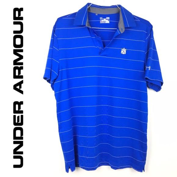 e0650379d5 Under Armour Shirts | Mens Under Armor Heat Gear Loose Polo Golf ...